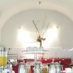 Restaurante abovedado sotano en barrio de los austrias madrid
