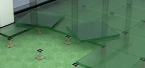suelos técnicos elevados con paneles