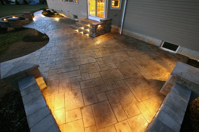 Hormig n impreso pavimento decorativo reformark - Pavimentos exteriores hormigon ...