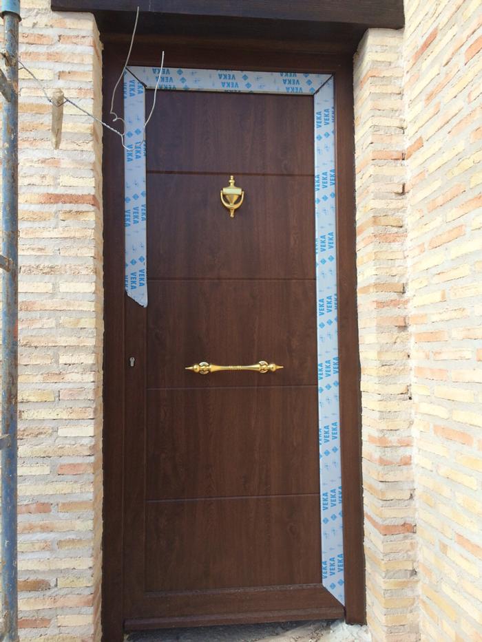 Ventanas color madera reformark for Ventanas de pvc tipo madera