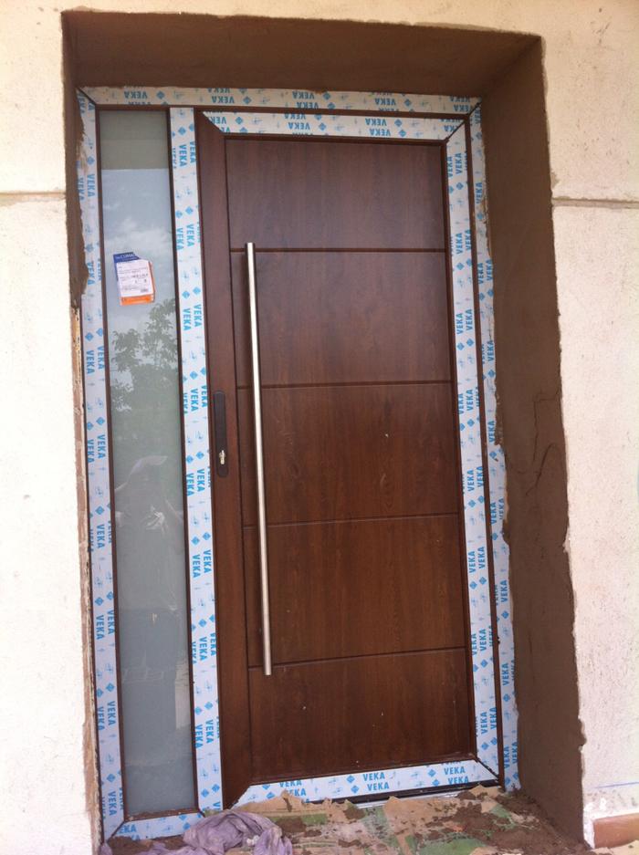 Ventanas en acabado madera reformark - Puertas de entrada pvc ...